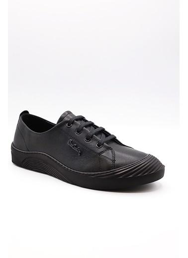 La scada Pıerre Cardın Pc-50262 Sıyah Kadın Casual Ayakkabı Siyah